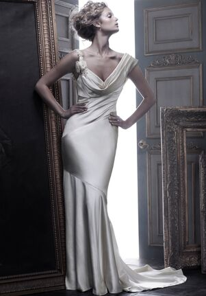 Amaré Couture B055 Sheath Wedding Dress