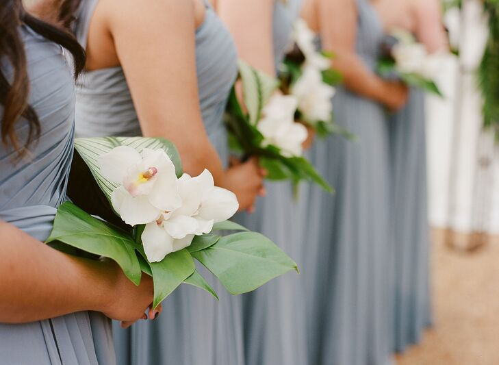 Tropical Bouquets at Pippin Hill in Charlottesville, Virginia