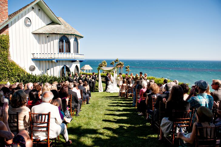 Ceremony with an Ocean View in Malibu