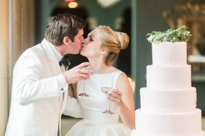 Newlyweds Toast Their Day