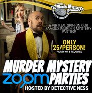 New York City, NY Murder Mystery Entertainment | Virtual Murder Mystery Zoom Parties