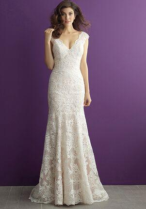Allure Romance 2966 Sheath Wedding Dress