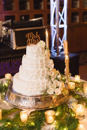 A Classic, Tiered Wedding Cake