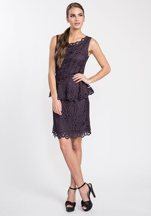 LuxeLace by Soulmates D1314 Purple Mother Of The Bride Dress