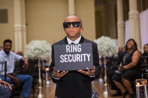 Ring Bearer in Security Costume
