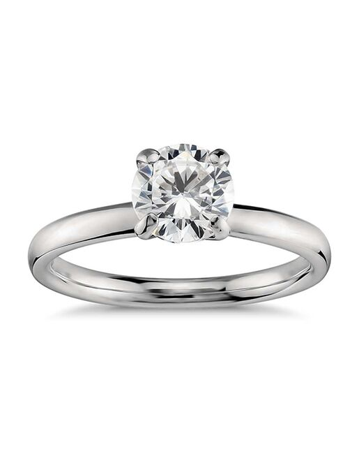 Monique Lhuillier Fine Jewelry Classic Round Cut Engagement Ring