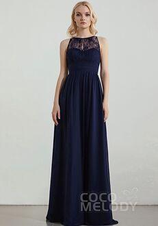CocoMelody Bridesmaid Dresses RB0303 Bateau Bridesmaid Dress
