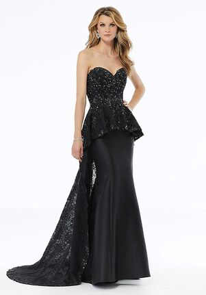 MGNY 72101 Black Mother Of The Bride Dress
