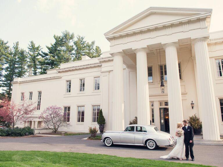 Wadsworth Mansion at Long Hill Estate wedding venue