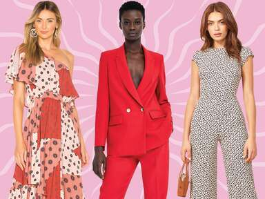 Colorful Alternatives to the White Rehearsal Dinner Dress