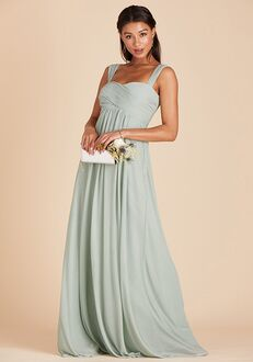Birdy Grey Maria Convertible Dress in Sage Sweetheart Bridesmaid Dress