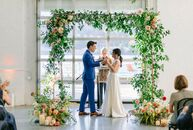 Just like the Earth, Wind and Fire song, Johna and Tom were married on the 21st night of September at Sound River Studios in Long Island City, New Yor