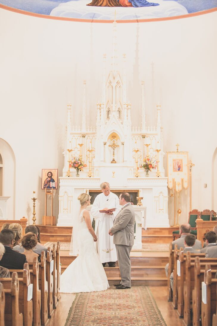 St. Anne Church Catholic Wedding Ceremony