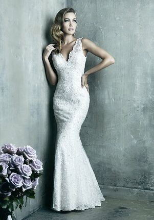 Allure Couture C291 Sheath Wedding Dress