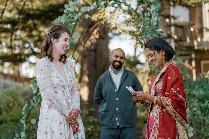 Backyard Wedding Vows Along California Coast