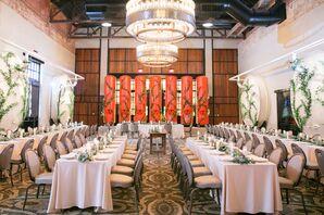 Modern Reception at Hotel Emma in San Antonio, Texas