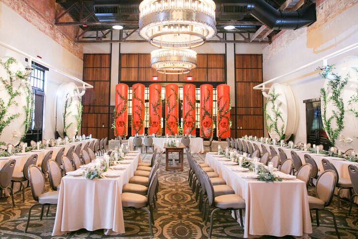 Modern Reception at Hotel Emma in San Antonio, Texas
