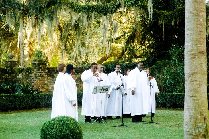 Gospel Choir at Outdoor Ceremony