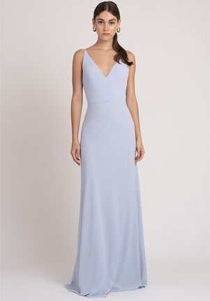 Jenny Yoo Collection (Maids) Colton V-Neck Bridesmaid Dress