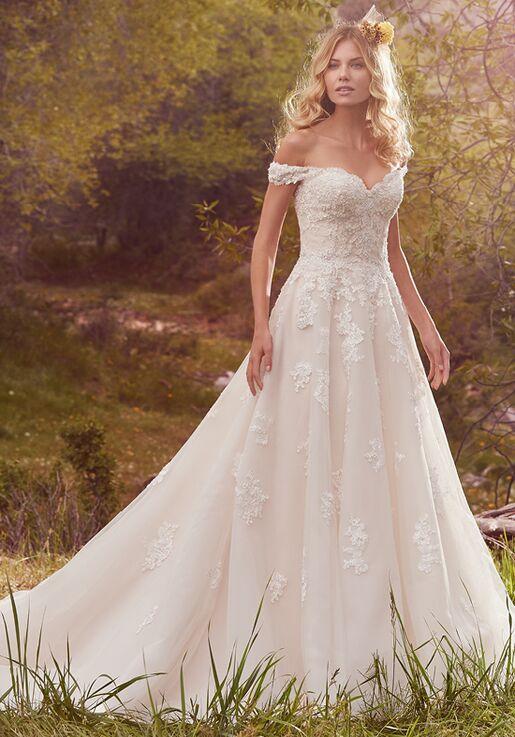 f9d63505c57 Maggie Sottero Saffron Ball Gown Wedding Dress