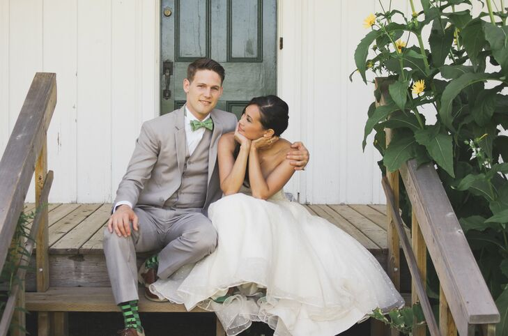 Zurry and Brendan pulled off a fun whimsical wedding in Markham, ON at the beautiful open-air Markham Museum. The couple brought personality to their