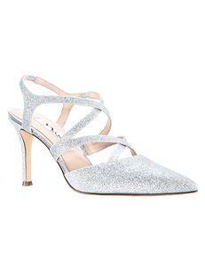 Nina Bridal Cianna Silver Shoe