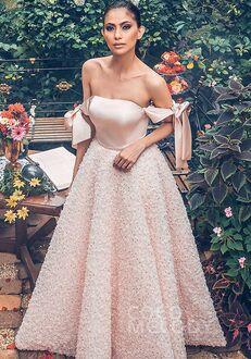 CocoMelody Bridesmaid Dresses PR3592 Off the Shoulder Bridesmaid Dress