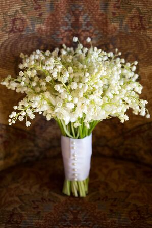 Lily of the Valley All-White Bouquet