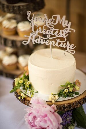 Custom Wooden Cake Topper