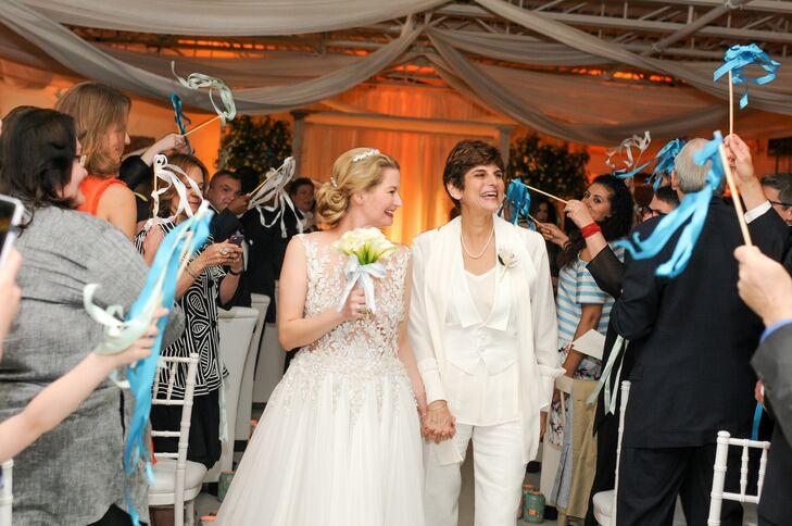 Custom White Three-Piece Bridal Suit