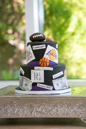 Sports-Themed Groom's Cake