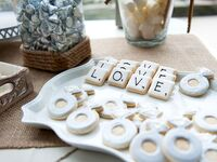 engagement ring cookies for bridal shower