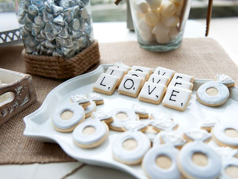 engagement ring cookies for bridal shower havana photography anyone tasked with hosting