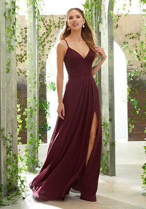 Morilee by Madeline Gardner Bridesmaids 21622 V-Neck Bridesmaid Dress