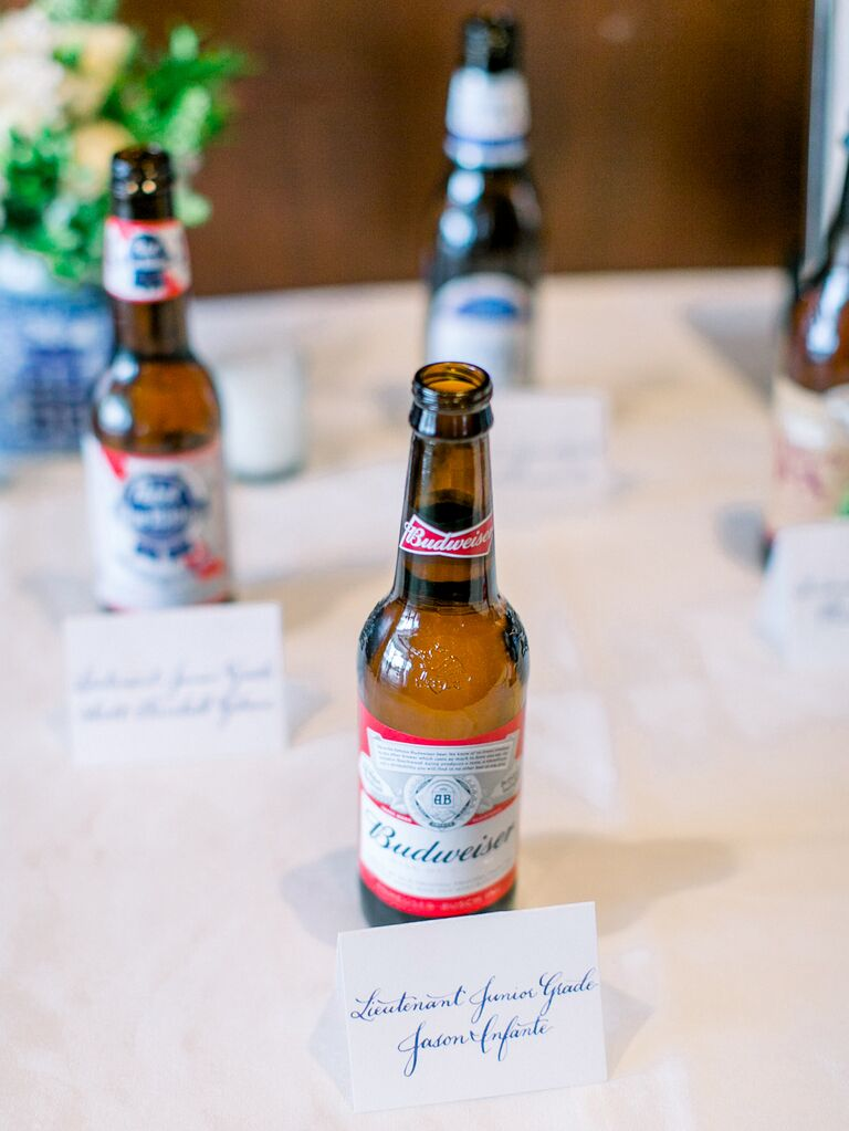 Beer escort cards