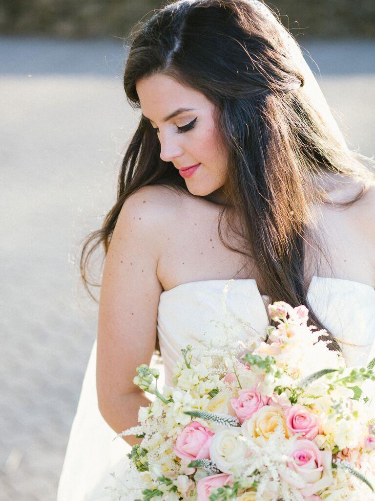 wedding makeup small eyeliner wing