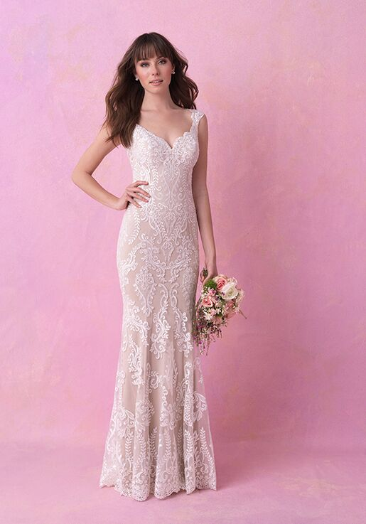 Allure Romance 3153 Sheath Wedding Dress