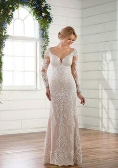 Essense of Australia D2511 Sheath Wedding Dress