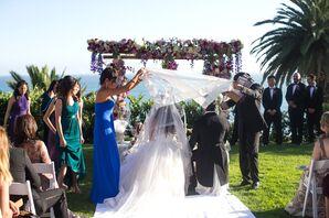 Multiple Ceremonies at Outdoor Seaside Wedding