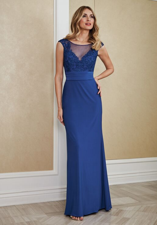 Jade Mother of the Bride by Jasmine J215065 Blue Mother Of The Bride Dress