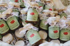 Apple Butter Wedding Favors