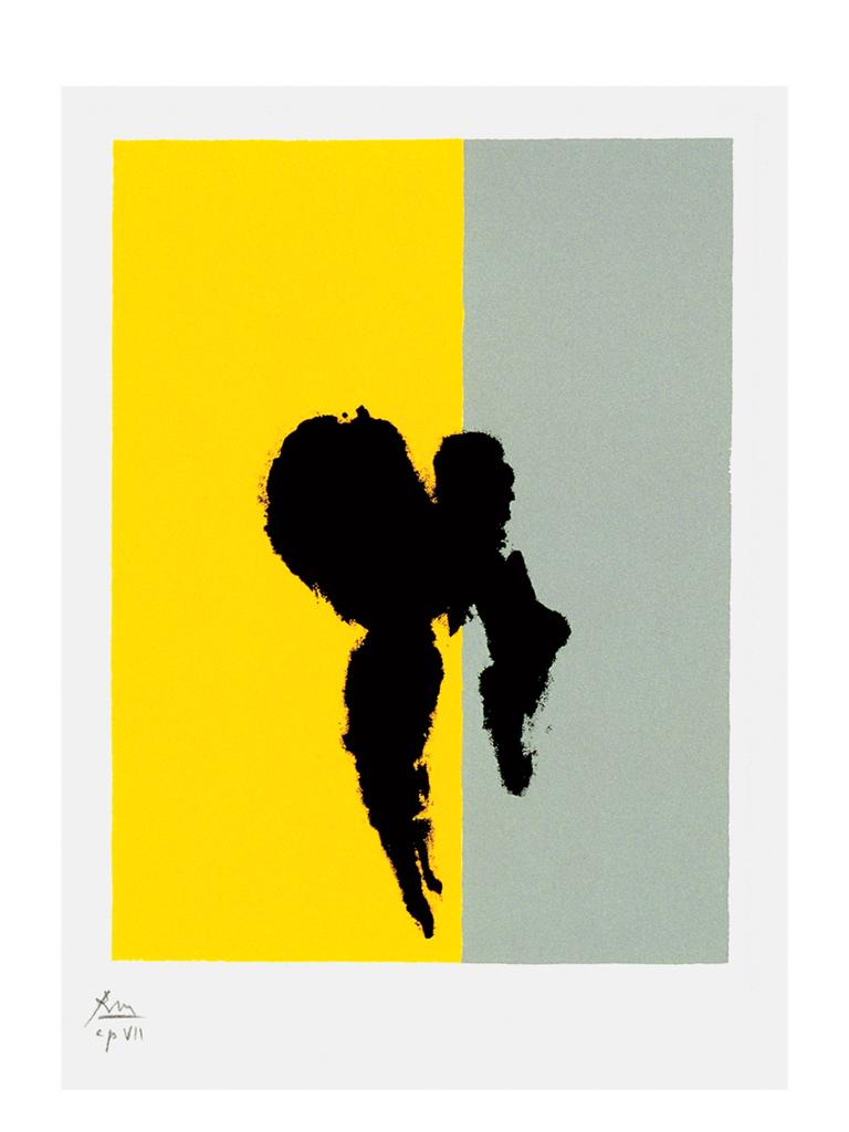 "Robert Motherwell's ""Paris Suite"" modern wedding details"