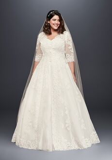 David's Bridal David's Bridal Style 9WG3899 Ball Gown Wedding Dress