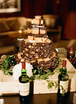 S'mores Wedding Cake