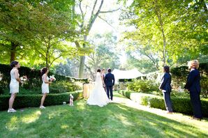 Outdoor Ceremony in Saugatuck, Michigan