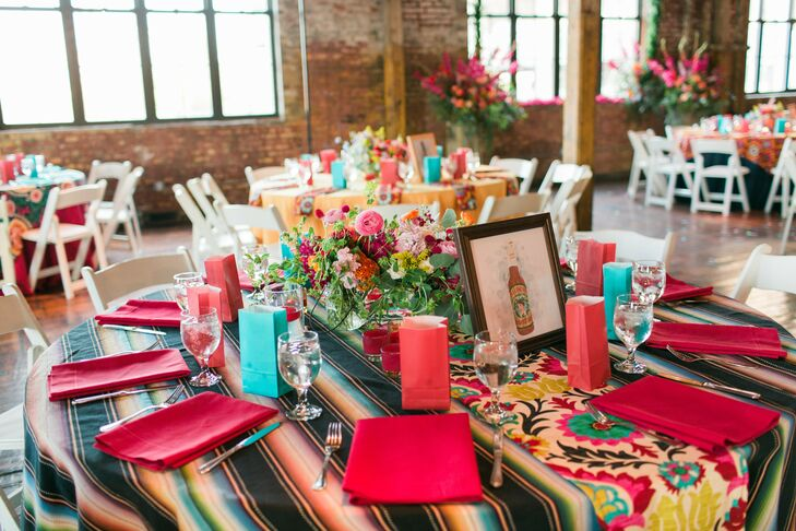 Colorful Mexican-Inspired Table Linens