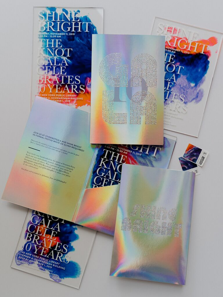 the knot gala invitations