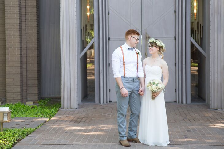 A Casual Morning Wedding At The Reata In Fort Worth Texas