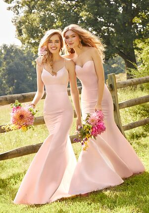 Camille La Vie & Group USA 46353_46343_PINK Bridesmaid Dress