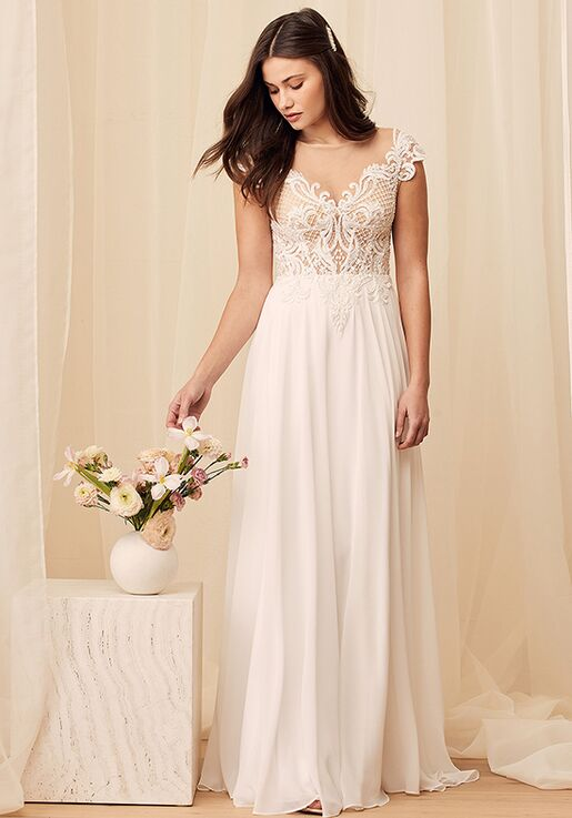 Lulus Loving You Truly White Beaded Embroidered Cap Sleeve Maxi Dress Ball Gown Wedding Dress